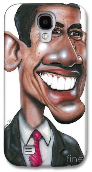 Us President Barack Obama Galaxy S4 Case