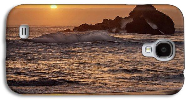Usa, California, Big Sur Galaxy S4 Case by Ann Collins
