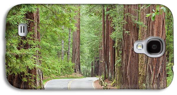 Usa, California View Of Road Galaxy S4 Case by Jaynes Gallery