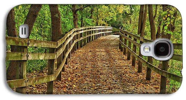 Usa, Indiana City Hiking Trail Galaxy S4 Case by Rona Schwarz