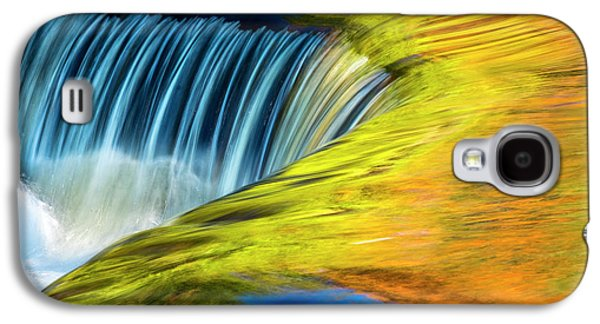 Usa, Michigan, Waterfall, Abstract Galaxy S4 Case