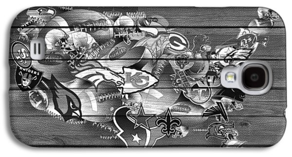Usa Nfl Map Collage 11 Galaxy S4 Case