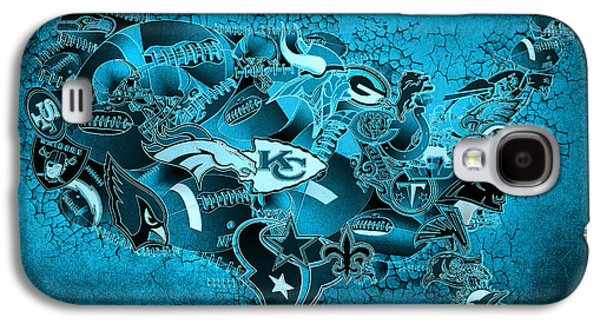 Usa Nfl Map Collage 13 Galaxy S4 Case