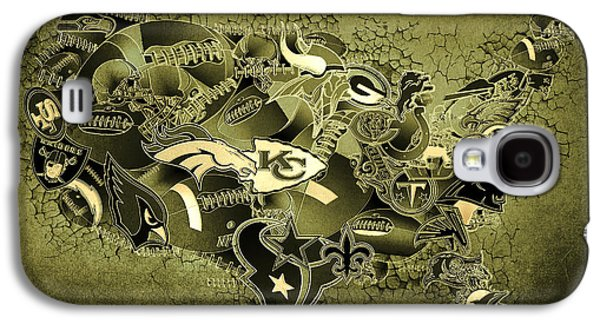 Usa Nfl Map Collage 15 Galaxy S4 Case
