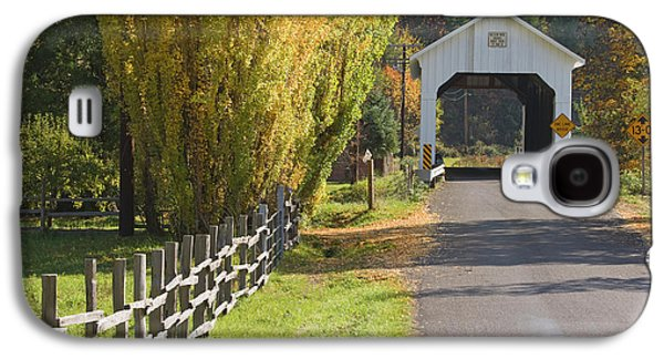 Usa, Oregon, Lake Creek Galaxy S4 Case by Jaynes Gallery