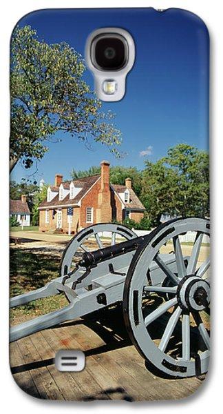 Usa, Virginia, Yorktown, Cannon Galaxy S4 Case by Walter Bibikow