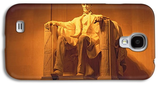 Usa, Washington Dc, Lincoln Memorial Galaxy S4 Case by Panoramic Images