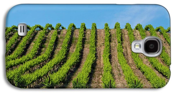Usa, Washington, Rolling Vineyards Galaxy S4 Case by Terry Eggers