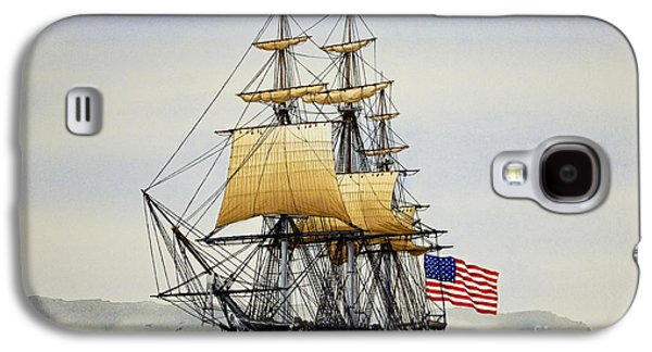 Uss Constitution Galaxy S4 Case by James Williamson