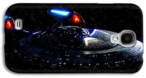 Uss Enterprise Galaxy S4 Case by Florian Rodarte