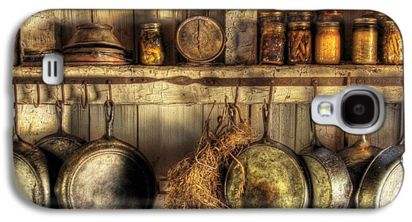Utensils - Old Country Kitchen Galaxy S4 Case by Mike Savad