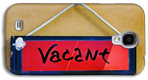 Vacant Galaxy S4 Case by Nikolyn McDonald