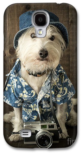 Vacation Dog Galaxy S4 Case by Edward Fielding