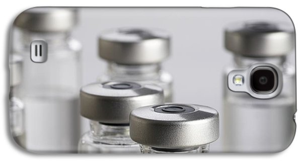 Vaccine Vials Galaxy S4 Case by Science Photo Library