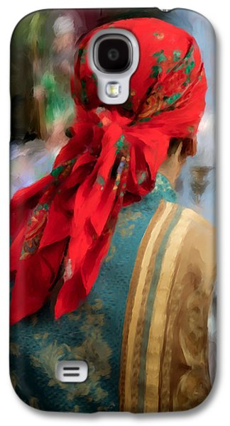 Valencian Man In Traditional Dress. Spain Galaxy S4 Case by Juan Carlos Ferro Duque