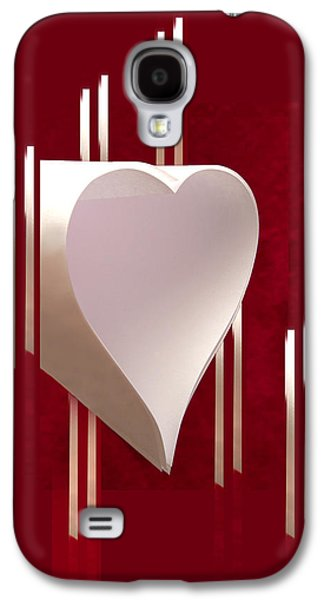 Valentine Paper Heart Galaxy S4 Case