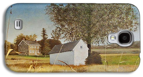 Valley Forge Spring House Galaxy S4 Case by Randall Graham