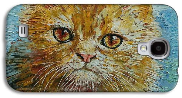 Van Gogh The Kitten Galaxy S4 Case