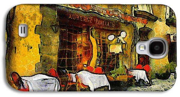 Van Gogh Style Restaurant Galaxy S4 Case