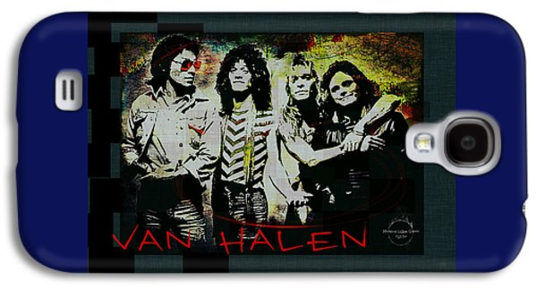 Van Halen Galaxy S4 Case - Van Halen - Ain't Talkin' 'bout Love by Absinthe Art By Michelle LeAnn Scott