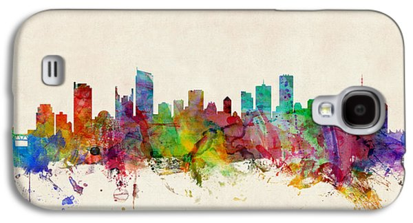 Vancouver Canada Skyline Galaxy S4 Case by Michael Tompsett