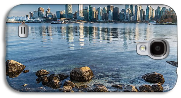 Vancouver City From Stanley Park Galaxy S4 Case by Pierre Leclerc Photography