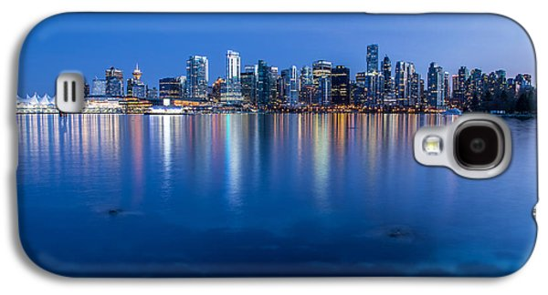 Vancouver From Stanley Park Galaxy S4 Case by Pierre Leclerc Photography