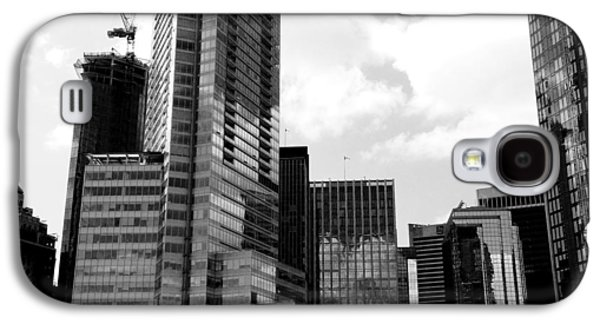 Vancouver Olympic Cauldron- Black And White Photography Galaxy S4 Case