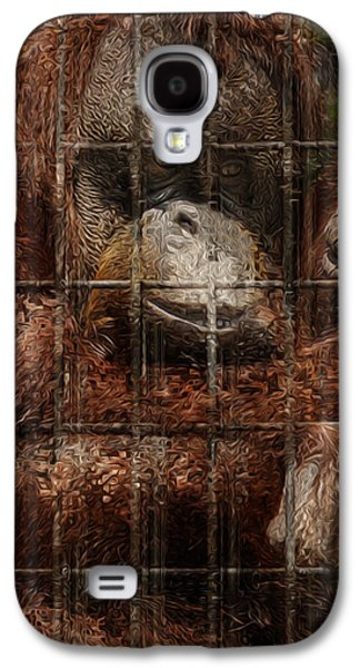Vanishing Cage Galaxy S4 Case by Jack Zulli