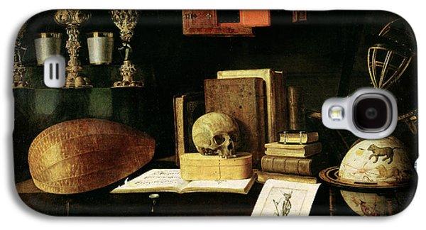 Vanitas Still Life, 1641 Oil On Canvas Galaxy S4 Case by Sebastian Stoskopff