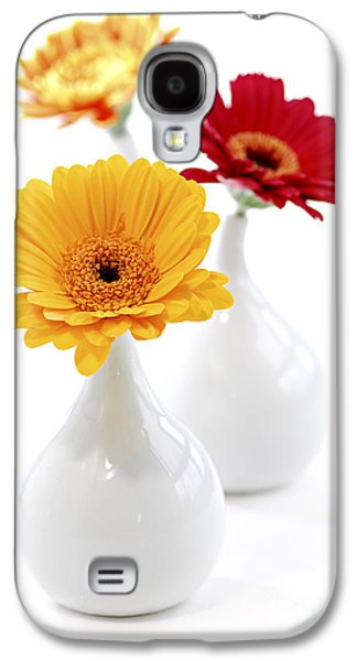 Vases With Gerbera Flowers Galaxy S4 Case by Elena Elisseeva