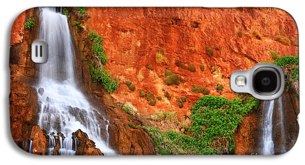 Vaseys Paradise Twin Falls Galaxy S4 Case by Inge Johnsson