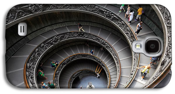 Vatican Spiral Staircase Galaxy S4 Case by Inge Johnsson