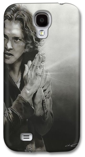 Pearl Jam Galaxy S4 Case - Vedder Iv by Christian Chapman Art