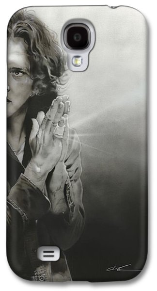 Eddie Vedder - ' Vedder Iv ' Galaxy S4 Case by Christian Chapman Art