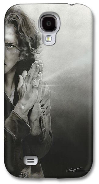 Eddie Vedder - ' Vedder Iv ' Galaxy S4 Case by Christian Chapman Art