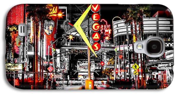 Vegas Nights Galaxy S4 Case