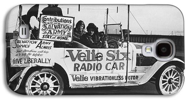 Velie Six Radio Car Galaxy S4 Case by Underwood & Underwood