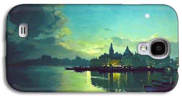 Venetian Twilight Galaxy S4 Case by Paul Tagliamonte