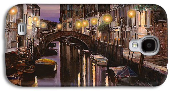 Venezia Al Crepuscolo Galaxy S4 Case by Guido Borelli