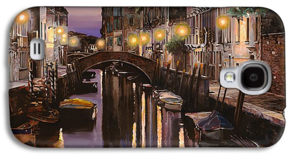 Light Galaxy S4 Case - Venezia Al Crepuscolo by Guido Borelli