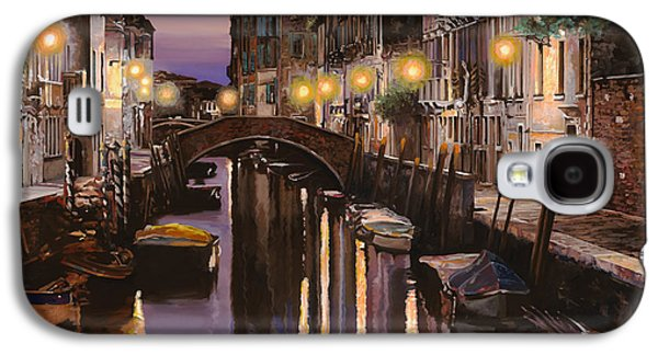 Venezia Al Crepuscolo Galaxy S4 Case by Guido Borelli