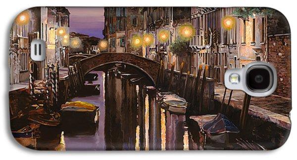 Bridges Galaxy S4 Case - Venezia Al Crepuscolo by Guido Borelli