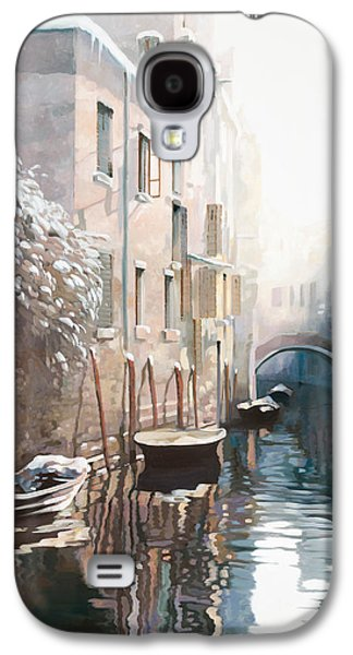 Venezia Sotto La Neve Galaxy S4 Case by Guido Borelli