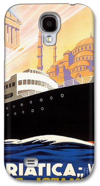 Venise Vintage Travel Poster Galaxy S4 Case