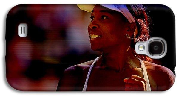 Venus Williams Galaxy S4 Case by Marvin Blaine
