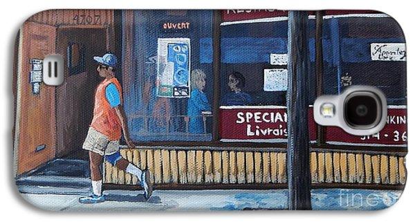 Verdun Street Scene Galaxy S4 Case by Reb Frost