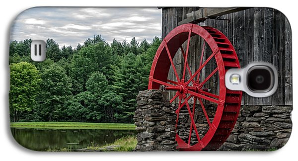 Vermont Grist Mill Galaxy S4 Case by Edward Fielding