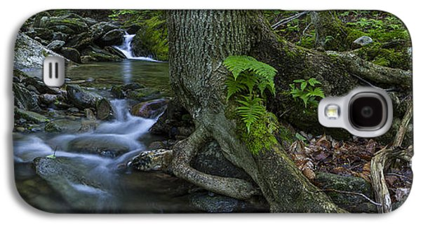 Vermont Landscape Brook Stream Forest Waterfall Galaxy S4 Case by Andy Gimino