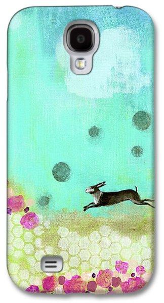 Vertical Brown Bunny Galaxy S4 Case